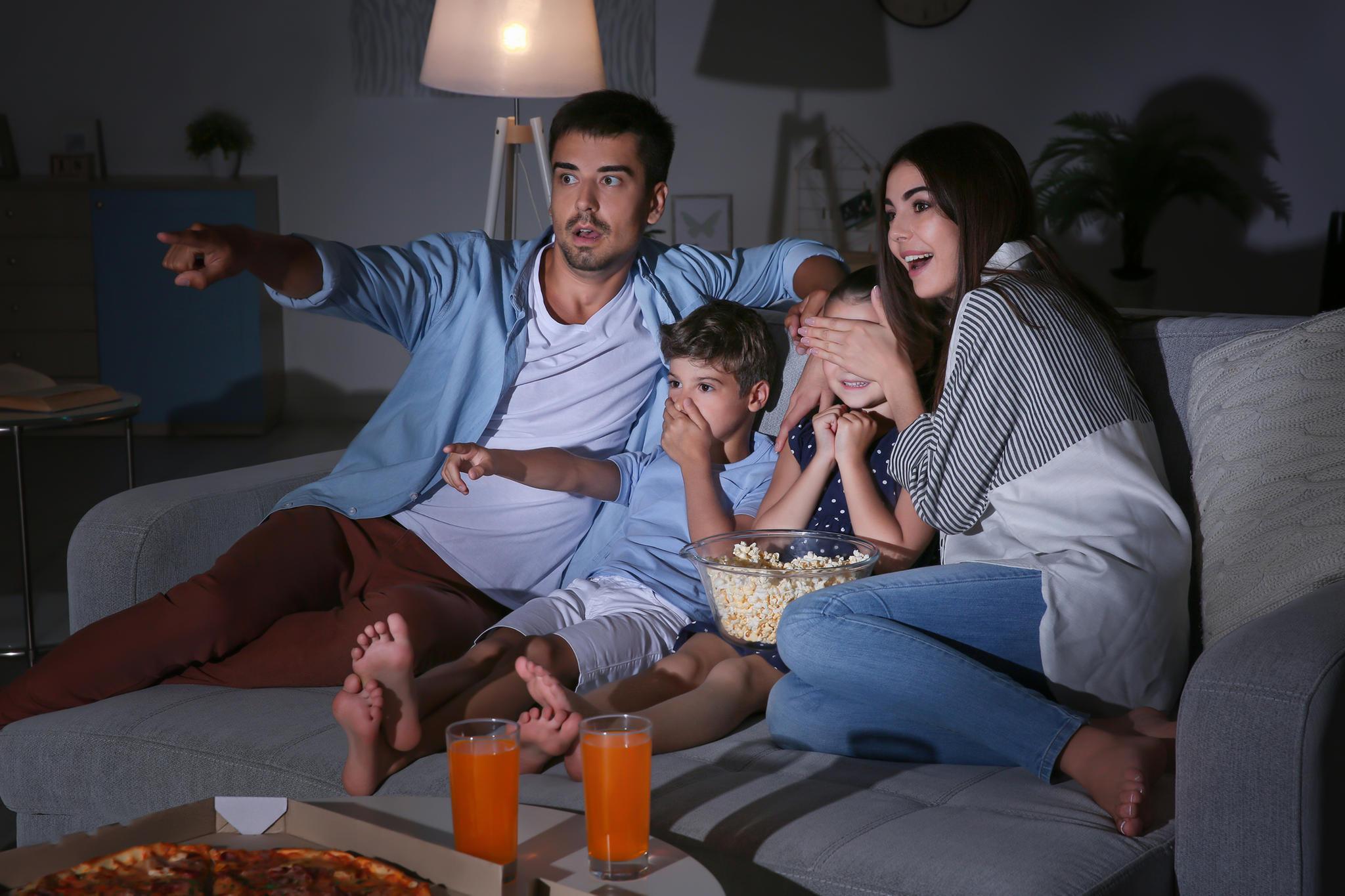 Halloween-Filme sind ein Spaß für die ganze Familie.