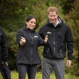 Tag 14  Herzogin Meghan und Prinz Harry genießen die Zeit in der Natur: Das Commonwealth Canopy der Queen, ein Forstschutzprogramm, sorgt dafür, dass ein Waldgebiet amNorth Shore in Neuseeland geschützt wird.
