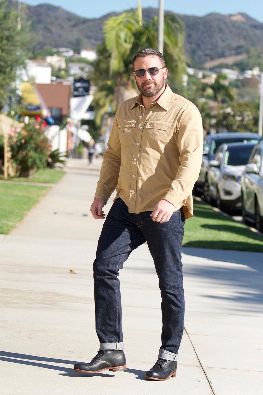 Ben Affleck kürzlich auf dem Weg zum Gottesdienst in Santa Monica
