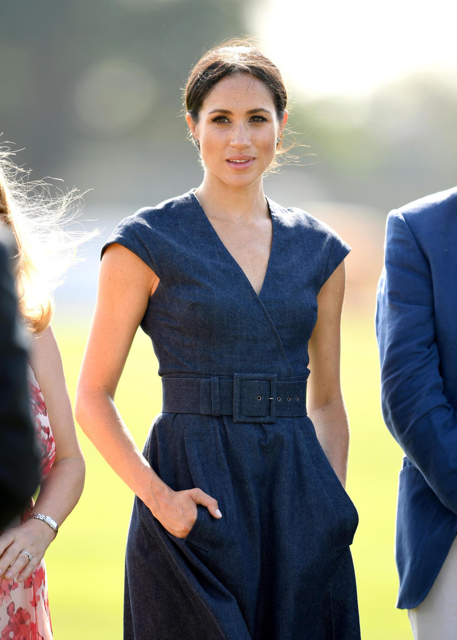 Herzogin Meghan im Juli 2018 bei einem Polospiel in Windsor.