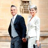 12. Oktober 2018  Da schlägt das royale Herz doch gleich höher: Für Prinzessin Eugenies Hochzeit haben Robbie und Ayda sich ganz besonders in Schale geworfen.