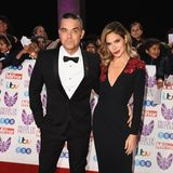 "29. Oktober 2018   Robbie Williams und Ehefrau Ayda Field versprühen Glamour auf dem Red Carpet der ""Pride of Britain Awards"" im The Grosvenor House Hotel in London."