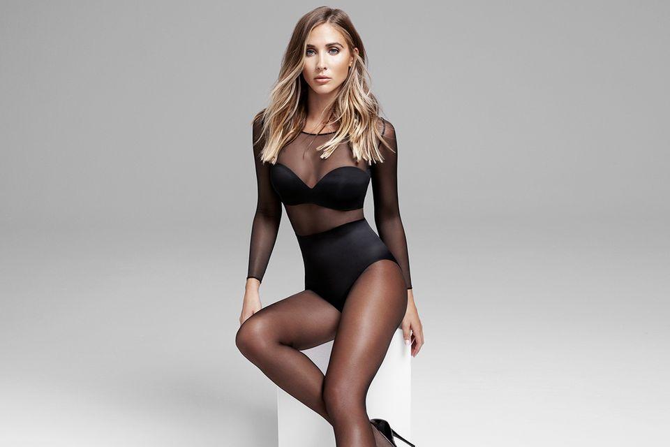 """Sexy und alltagstauglich: Ann-Kathrin Götze präsentiert die """"Basic Tight""""-Collection von Calzedonia"""