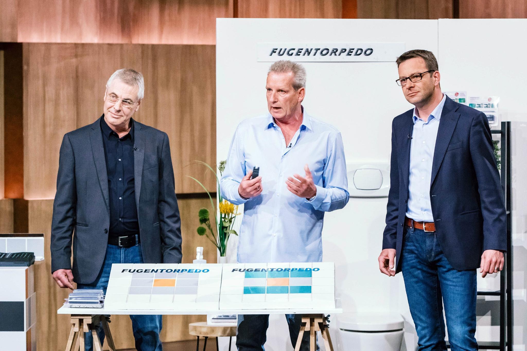 Matthias Herrnbröck, Bernd Müller und Frank Eckert