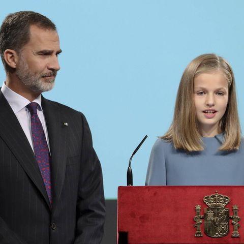 König Felipe und Prinzessin Leonor