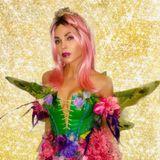 Wie im Märchen: Jenna Dewan in einem Feen-Kostüm mit aufwendigen Details und Flügeln.