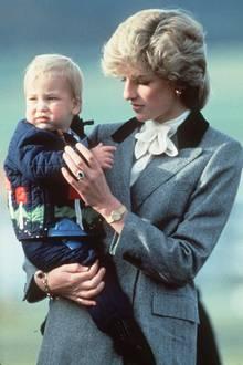 Prinz William + Prinzessin Diana