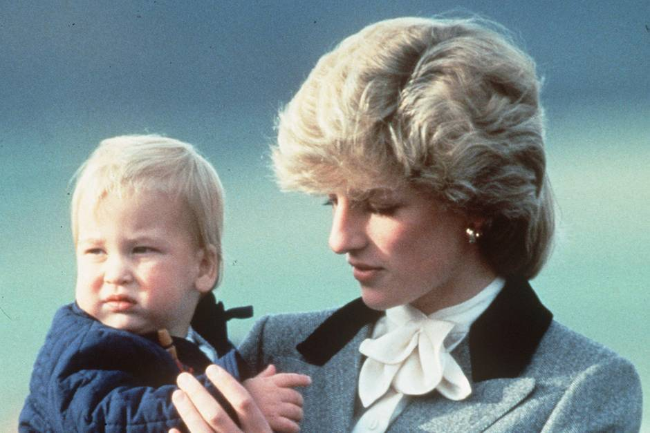 Prinz William + Prinzessin Diana