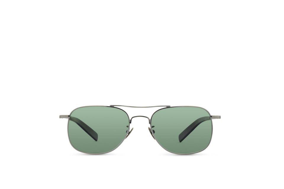 Exklusive Piloten-Sonnenbrille der deutschen Brillenmanufaktur Lunor