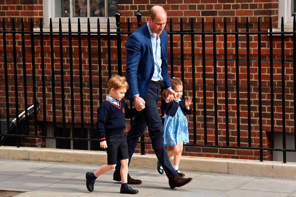 Sieht Herzogin Meghan ihren Schwager Prinz William als Vorbild für ihren Ehemann und werdenden Papa Prinz Harry?