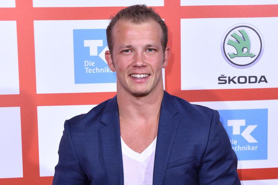 Fabian Hambüchen hat allen Grund zum Strahlen: Er ist frisch verliebt in Neu-Freundin Nina