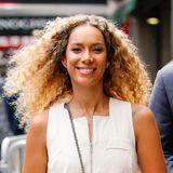 Dass Locken gute Laune machen beweist hier Leona Lewis bei einem entspannten Spaziergang durch New York.