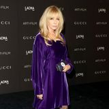 Lady in Lila: Schauspielerin Rosanna Arquette