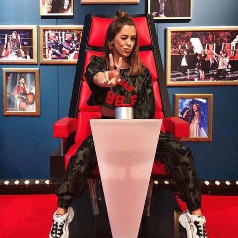 """Vanessa Mai nimmt im Battle-Stuhl von """"The Voice Kids"""" Platz"""
