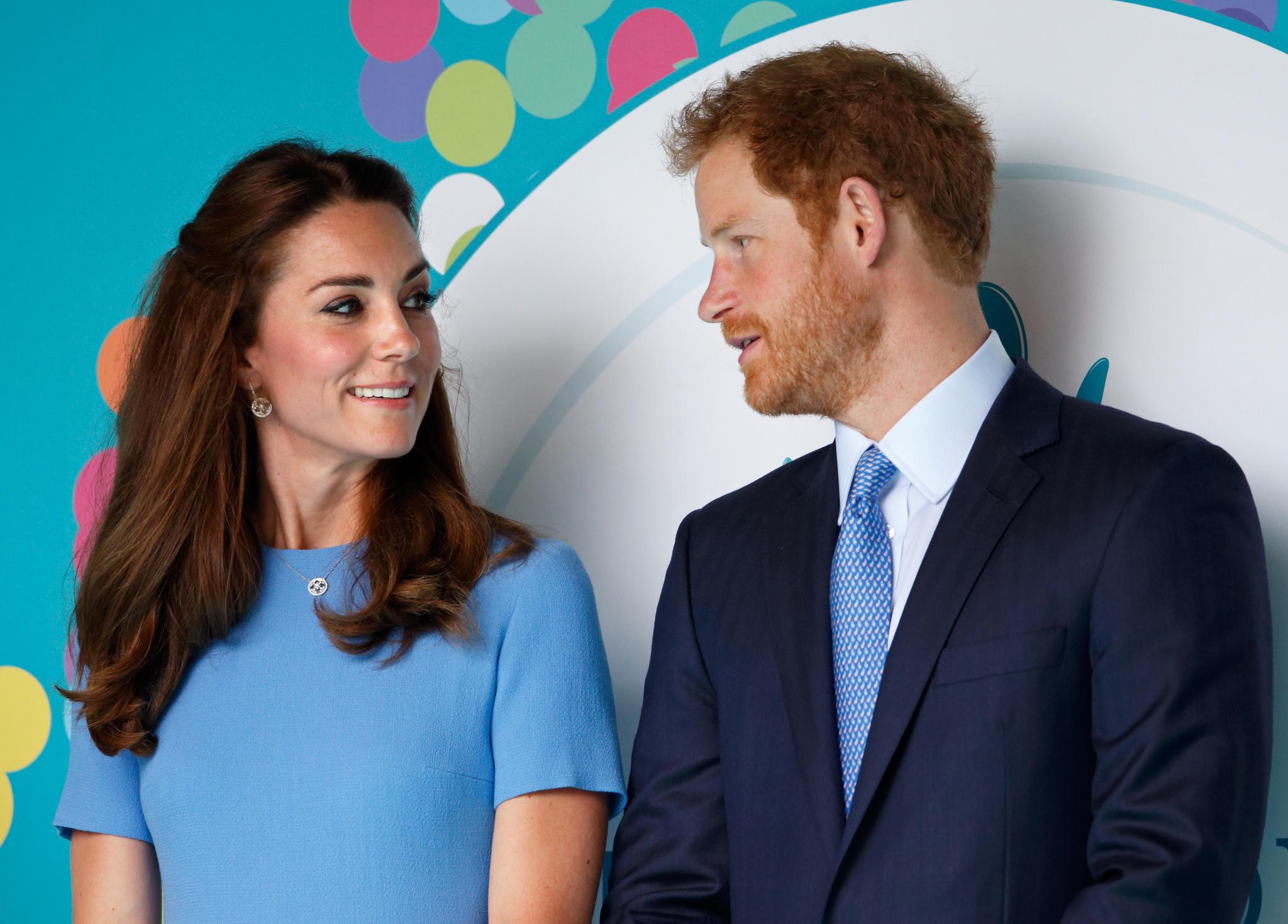 Herzogin Catherineund Prinz Harry - zwei, die sich immer aufeinander verlassen können