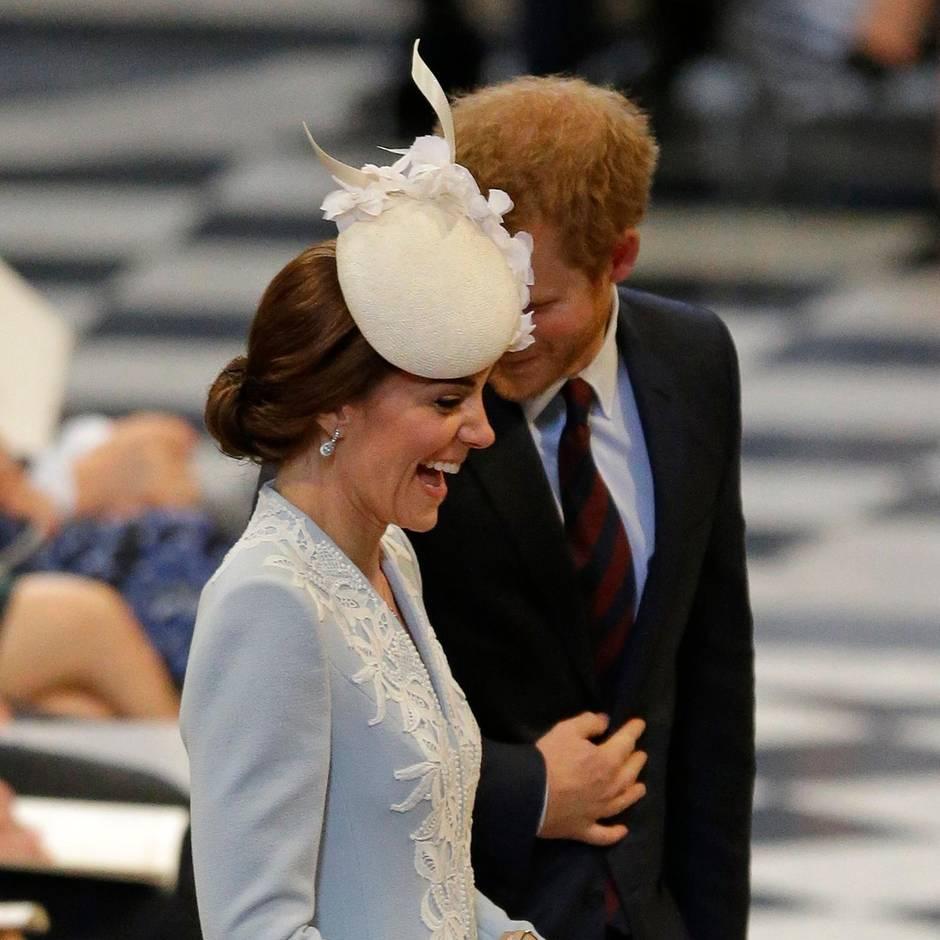 Auftritt ohne Prinz William bei Gottesdienst in London