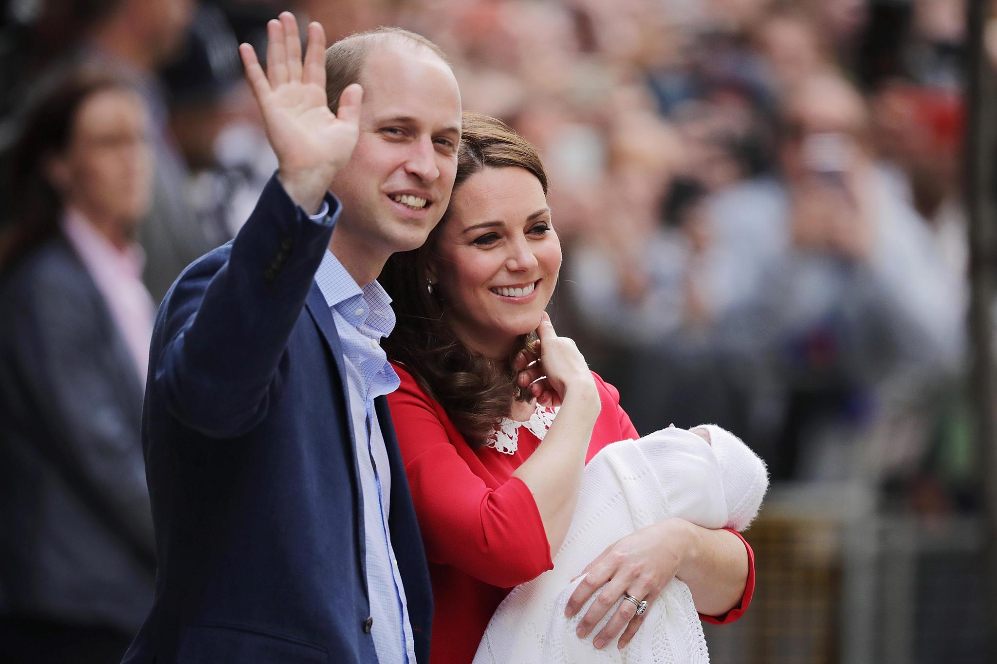 Herzogin Catherine Prinz William Viertes Kind Unterwegs Galade