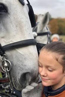 4. November 2018  Prinzessin Isabella hat zeigt sich während der Hubertusjagd in Klampenborg als waschechte Pferdeflüsterin.