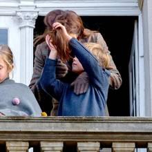 Prinz Frederik und Prinzessin Mary mit den Zwillingen Josephine und Vincent