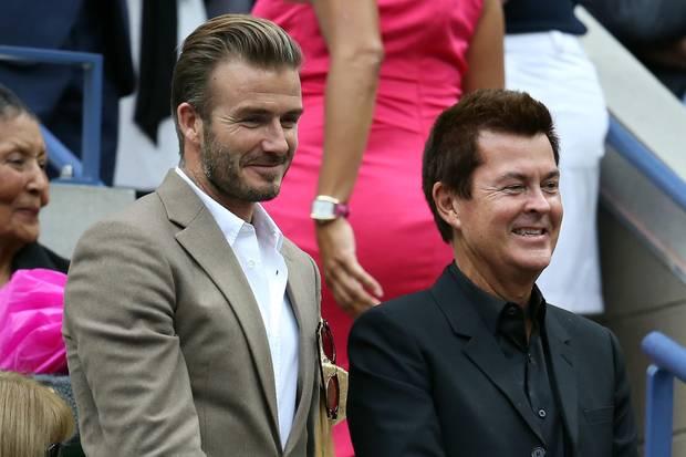 David Beckham und sein geschäftlicher Wegbereiter über viele Jahre Simon Fuller gehen nach 23 Jahren getrennte Wege.