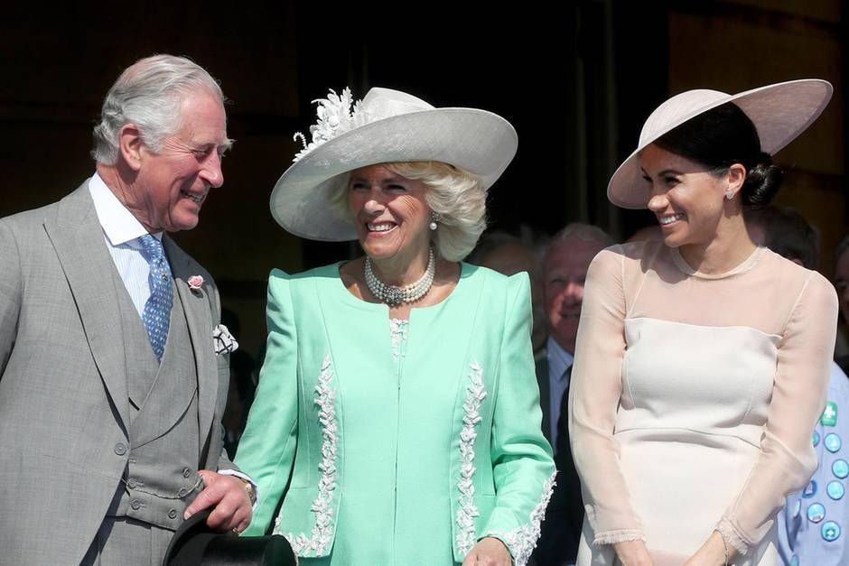 Prinz Charles, Herzogin Camilla + Herzogin Meghan