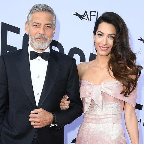 George Clooney und Ehefrau Amal