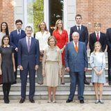 5. November 2018  Dieses Familienfoto der spanischen Königsfamilie ist eine kleine Sensation.Fast sieben Jahre ist es her, dass wir die gesamte spanische Königsfamilie auf einem Bild gesehen haben. Doch zum Geburtstag ihrer Großmutter Sofía sind nicht nur ihre Enkelinnen Leonor und Sofía gekommen, sondern auch all ihre Cousins und Cousinen.