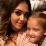 29. Oktober 2018  Die kleine Haven genießt die Kuschelzeit mit der Mama Jessica Alba.