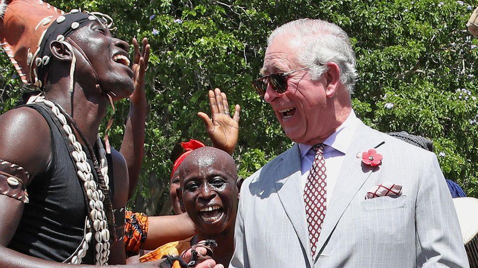 Prinz Charles in Ghana