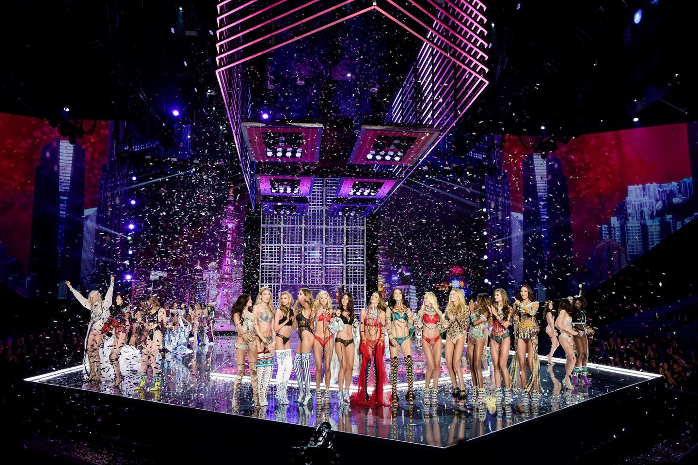Finale der Victoria's Secret Fashion Show 2017 in Shanghai