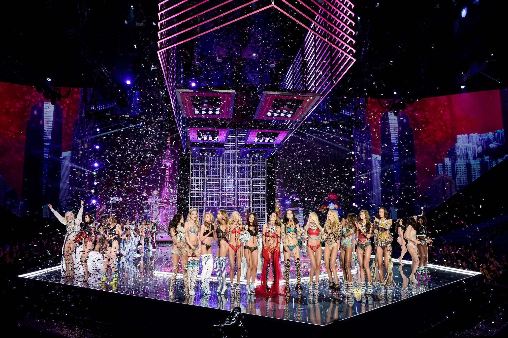 Finale der Victoria's Secret Fashion Show 2017 in Shanghai
