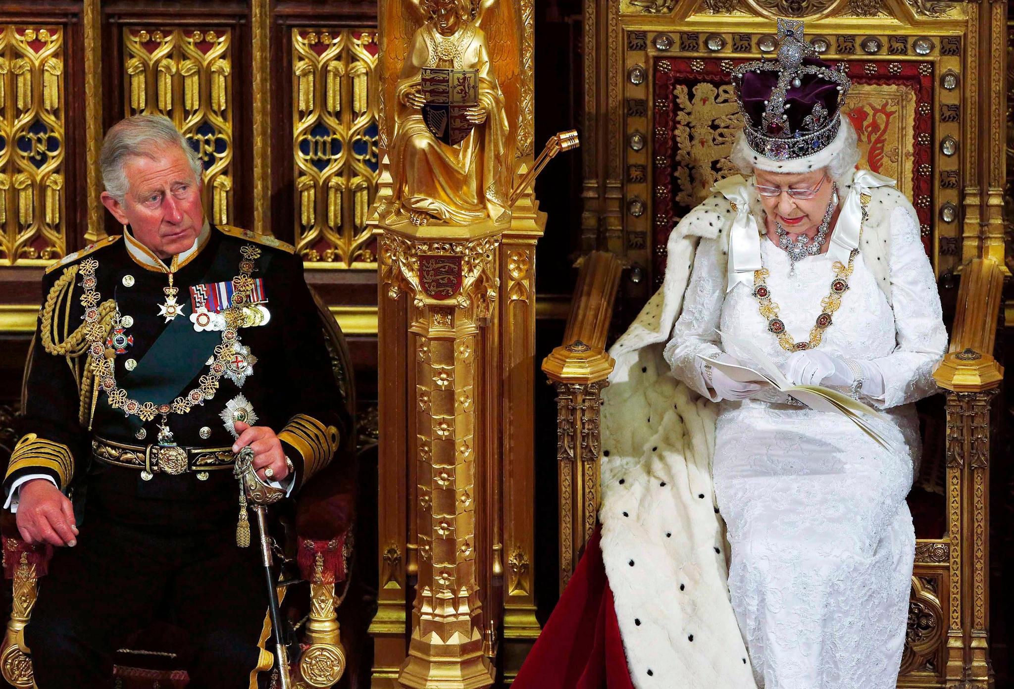 Prinz Charles wird seine Mutter Queen Elizabeth eines Tages auf den Thron folgen