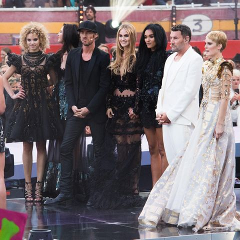 """GNTM""-Finalistinnen 2016: Taynara, Fata, Elena, Jasmin und Kim"