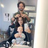 30. Oktober 2018  Mit Baby zum Friseur? Für die Vierfach-Mama Hilaria Baldwin kein Problem.
