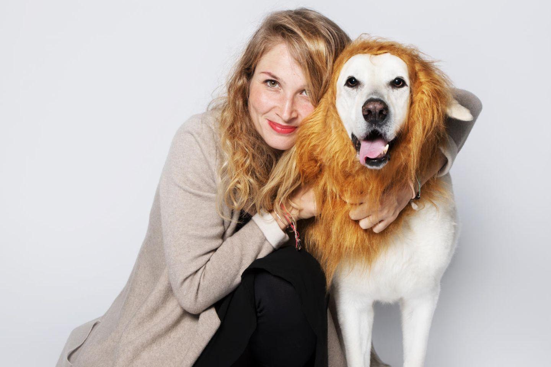 VEGDOG-Gründerin Tessa Zaune-Figlars Hund Nelson brachte sie auf die Idee für das Start-Up