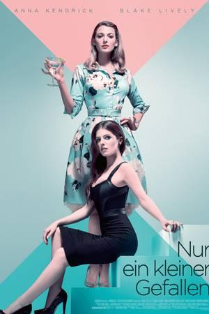 """Filmplakat von """"Nur ein kleiner Gefallen"""" mit Blake Lively und Anna Kendrick"""