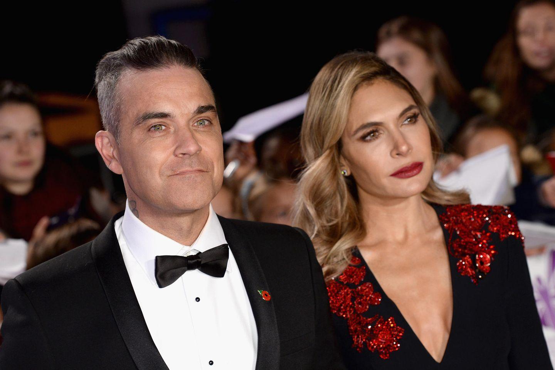 Robbie Williams + Ayda Field