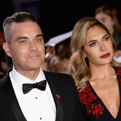 Robbie Williams + Ayda Field