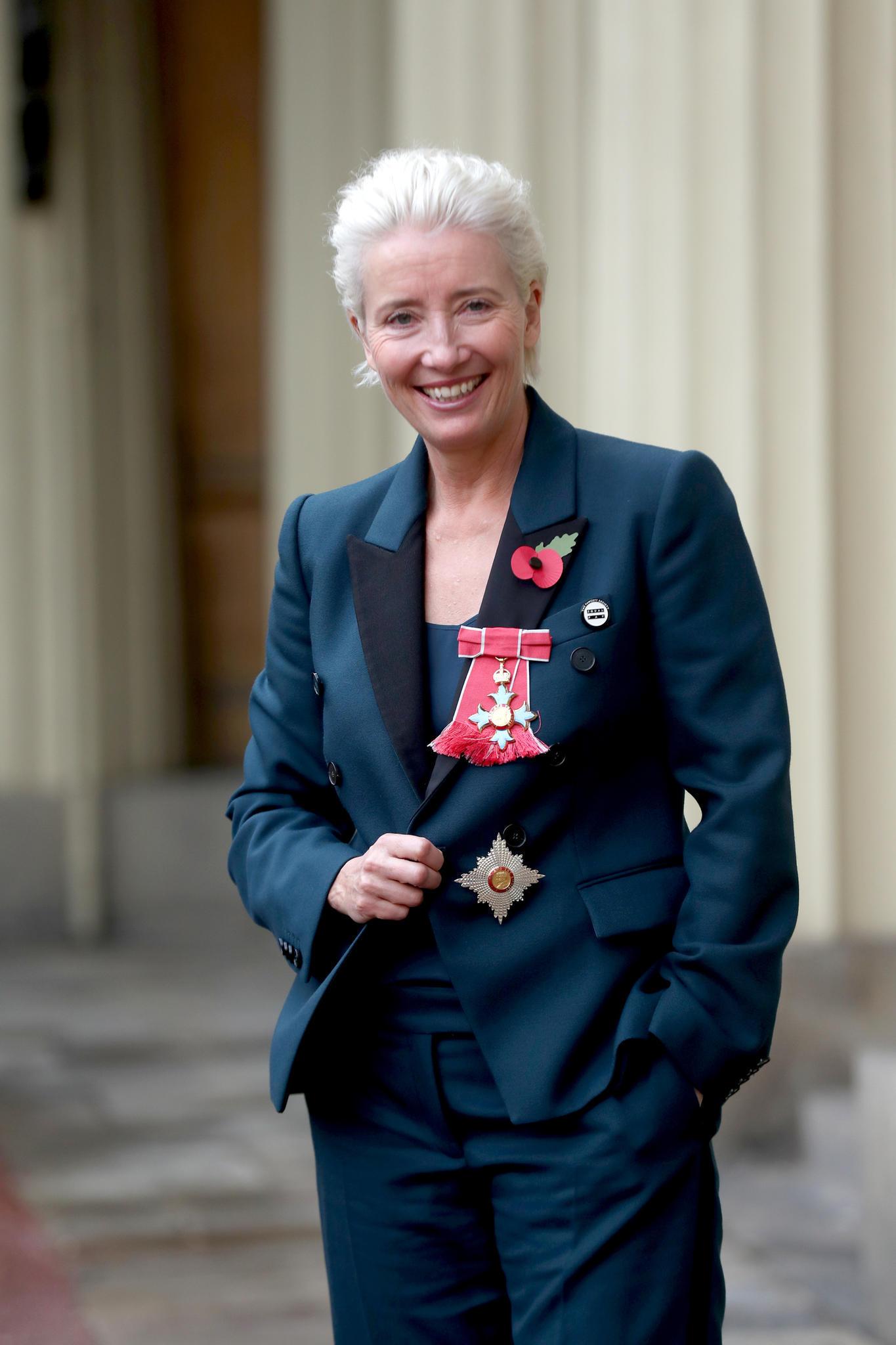 Emma Thompson bei ihrem Termin im Kensington Palast