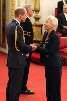 Prinz William möchte Emma Thompson während der Zeremonie nicht küssen