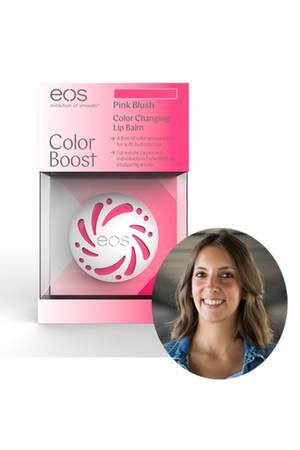 Lifestyle-Redakteurin Jessica testetden Color Boost Lip Balmvon eos.