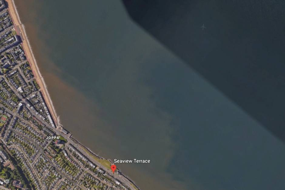 Edinburgh Seaview Terrace bei Google Earth