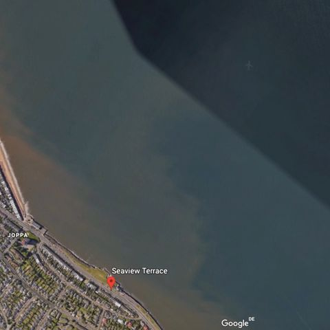 Edinburgh Seaview Terrace bei Google Earth