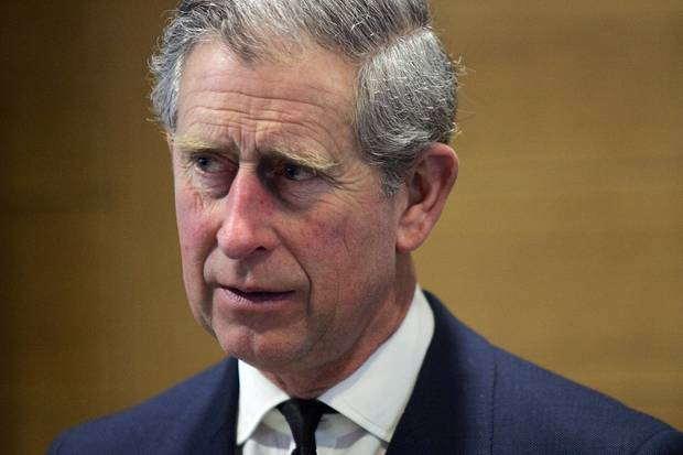 Prinz Charles auf einer Sitzung des Verbands der britischen Industrie im Jahr 2006 in London