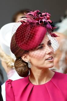 12. Oktober 2018  Herzogin Catherine und Prinz William bei der Hochzeit von Prinzessin Eugenie und Jack Brooksbank.