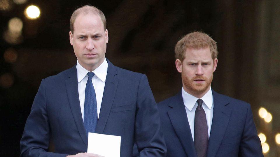 Prinz William und Prinz Harry reagierten ganz unterschiedlich auf die Scheidung ihrer Eltern