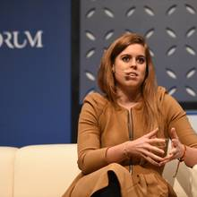 """Prinzessin Beatrice spricht über persönliche Mobbing-Erfahrung und Cyber-Mobbing bei der Netzkonferenz """"Web Summit"""" 2018 in Lissabon"""