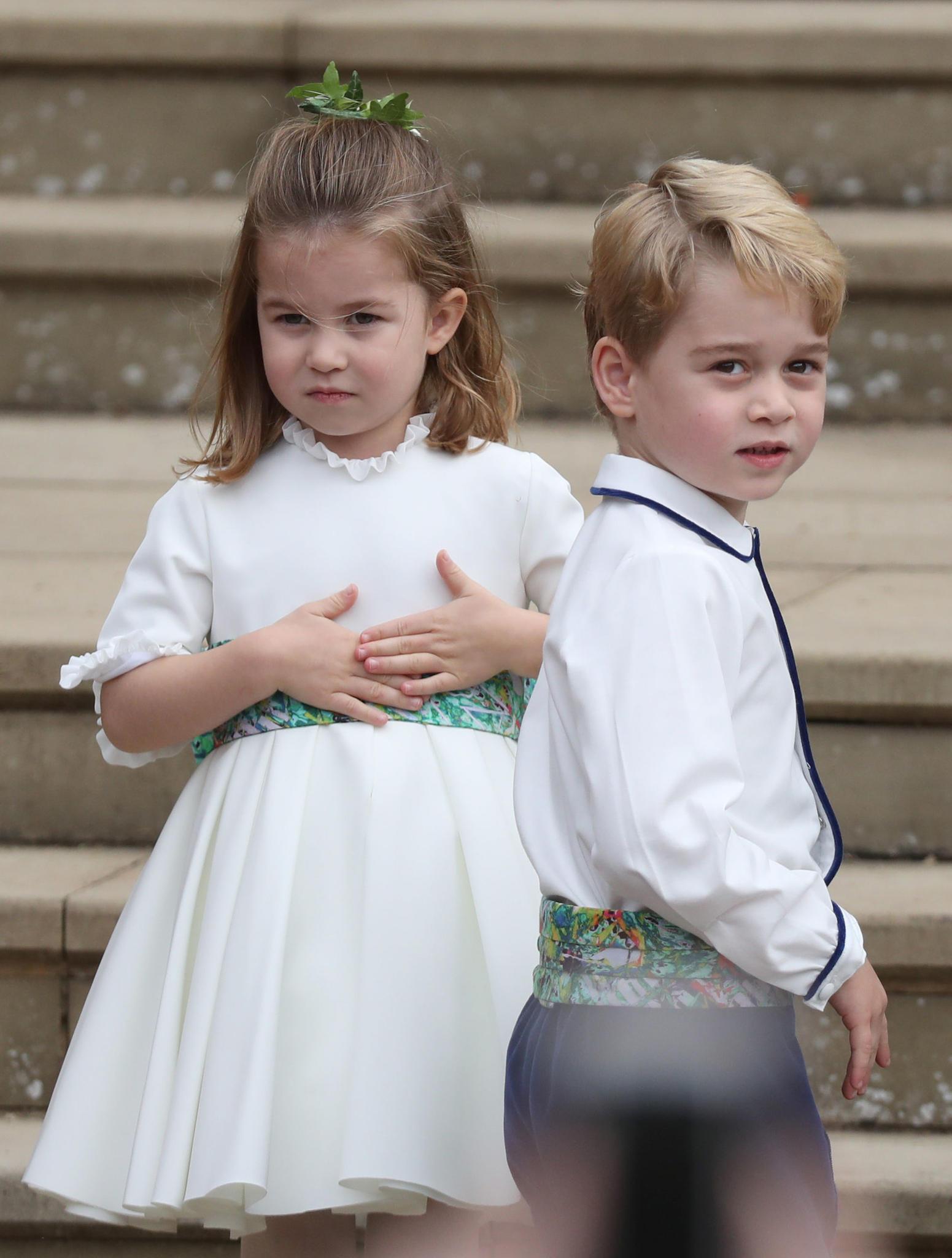 Prinzessin Charlotte Prinz George Suss So Nennen Sie Opa