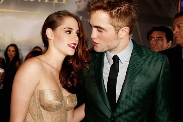"""Ein Bild aus glücklicheren Tagen: Kristen und Robert bei der L.A.-Premiere von """"Breaking Dawn - Bis(s) zum Ende der Nacht - Teil 2"""" Im November 2012"""