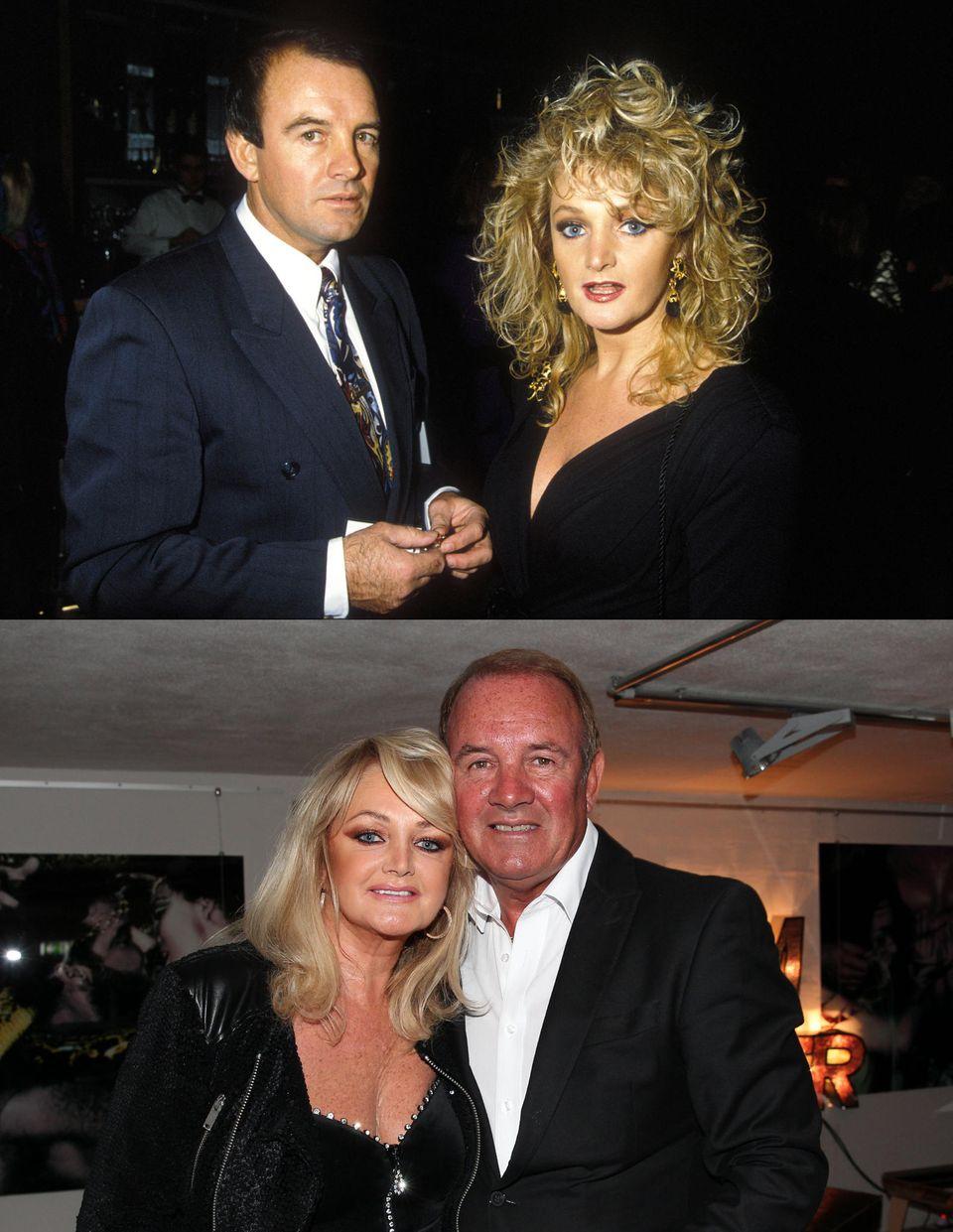 Bonnie Tyler und Robert Sullivan  Die britische Pop- und Rocksängerin ist nicht nur ihrer Liebe zur Musik, sondern auch ihrem Ehemann treu geblieben. Seit 1973 ist die Blondine mit der markanten Power-Stimme mit Robert Sullivan verheiratet.